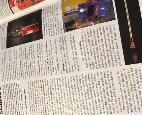img 2971 495x400 - Pulverlansen mentioned in the Swedish magazine Utryckning!