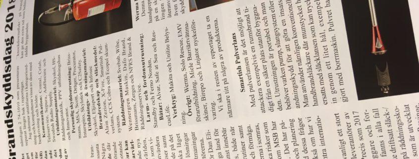 img 2971 845x321 - Pulverlansen mentioned in the Swedish magazine Utryckning!