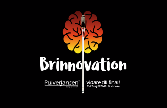 brinnovation och pulverlansen 2 - Pulverlansen to the finals of Brinnovation!!